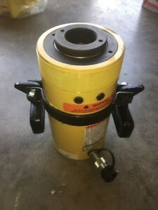 Enerpac Rch 606 Hollow Steel Hydraulic Cylinder 60 Tons 6 Stroke Length