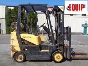 Daewoo Gc25s 3 5 000lbs Forklift Side Shift Propane