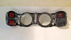 1979 81 Chevrolet Camaro Dash Lens Assembly With Warning Lights