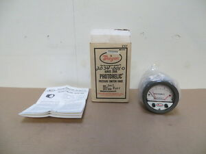 Dwyer 3003 Photohelic Pressure Switch Gauge 0 3 Water Range New 120 Vac New
