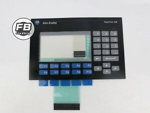 Usa Membrane Keypad Touch Screen For Allen bradley Panelview 550 2711 b5a2
