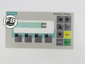 Usa New Membrane Keypad For Siemens Smatic Panel Op73 6av6641 0aa11 0ax0