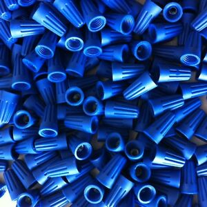 Standard Blue Wire Connector 5000 Nuts 1000 Per Bag