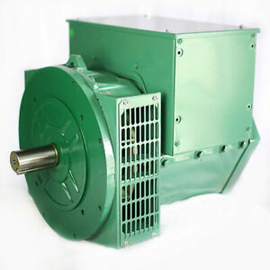 Generator Alternator Head 184e 21kw 1 Phase 2 Bearing 120 240 Volt Industrial
