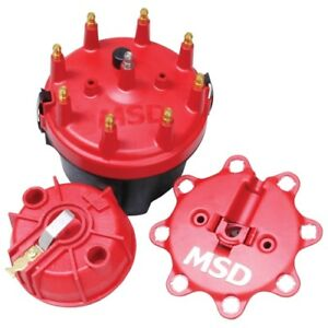 Msd Ignition 8445 Cap A Dapt Kit Fixed Rotor