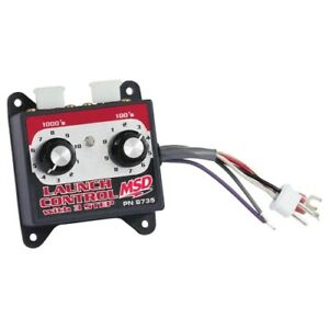 Msd Ignition 8735 Launch Control Module Selector Use With 6 7 series Ignitions