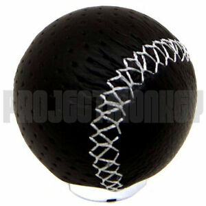 Razo Ra128 Shift Knob Shiftknob Gear Lever 240g Perforated Leather Carmate Jdm