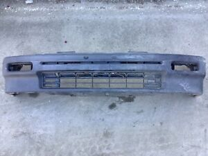 88 89 90 91 Civic Wagon Front Bumper Complete Assy Less Blinkers Used Oem