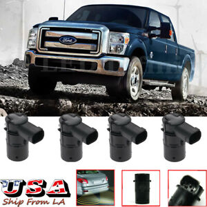 4x Backup Parking Assist Radar Sensors For Ford F150 F250 F350 Explorer Mercury