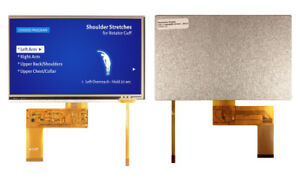 7 0 Mva Tft Lcd Display W Resistve Touch 800x480