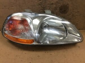 96 97 98 Civic R Right Passenger Side Front Light Beam Headlight Lamp Oem