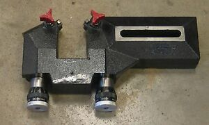 Extended Reach Twin Disc Cutting Head For Ammco Rels Brake Lathe 6950