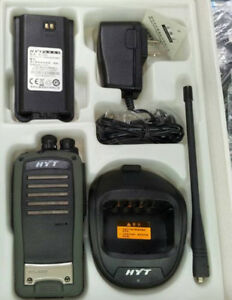 Hyt Tc 620 Tc620 Uhf Radio 5 Watt 16 Channel Two Way 2 way Radio
