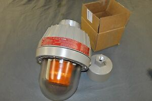 Federal Signal 27xst 024ase Explosion Proof Strobe Amber