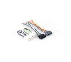 Car Stereo Power Amp Bypass Jumper Radio Wiring Harness For Jeep