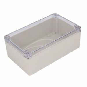 Uxcell Dustproof Ip65 Clear Cover Plastic Electronic Project Junction Box Case X