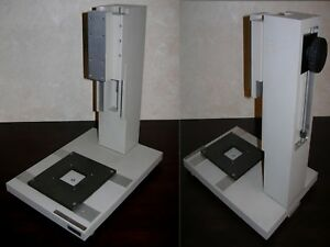 A G Heinze Industrial Inspection Microscope Stand base Temporarily Reduced