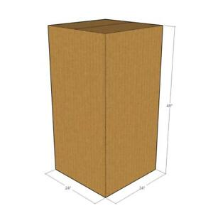 10 24 X 24 X 48 Corrugated Boxes new For Moving Or Shipping Needs