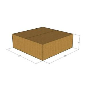 10 24 X 24 X 8 200 32 Ect Corrugated Boxes new For Moving Or Shipping Needs