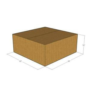 10 24 X 24 X 10 Corrugated Boxes new For Moving Or Shipping Needs