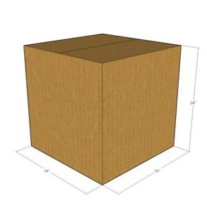 10 24 X 24 X 24 Corrugated Boxes new For Moving Or Shipping Needs