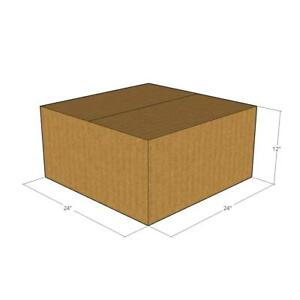 10 24 X 24 X 12 Corrugated Boxes new For Moving Or Shipping Needs