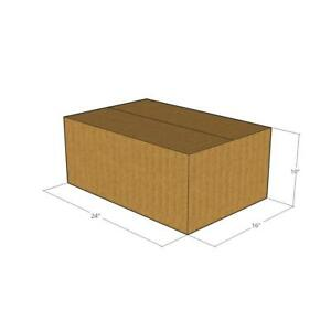 10 24 X 16 X 10 Corrugated Boxes new For Moving Or Shipping Needs