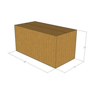 10 24 X 12 X 12 Corrugated Boxes new For Moving Or Shipping Needs
