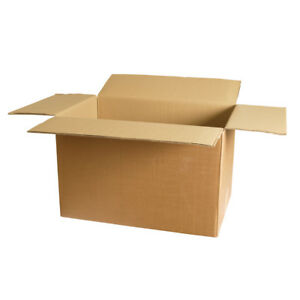 5 Boxes 24 X 24 X 12 275 44 Ect Heavy Duty New For Packing Or Shipping Needs