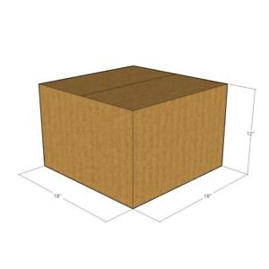 10 18 X 18 X 12 Corrugated Boxes new For Moving Or Shipping Needs