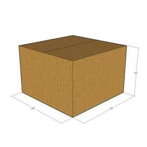 10 24 X 24 X 16 Corrugated Boxes new For Moving Or Shipping Needs