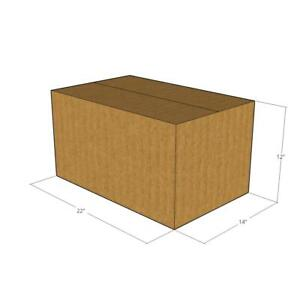 10 22 X 14 X 12 Corrugated Boxes new For Moving Or Shipping Needs