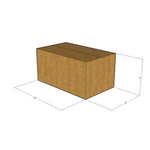 50 New Corrugated Boxes 10 X 6 X 5 32 Ect