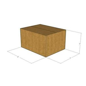 50 New Corrugated Boxes 9 X 7 X 5 32 Ect