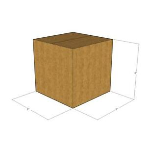 50 New Corrugated Boxes 8 X 8 X 8 200 32 Ect