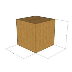 50 New Corrugated Boxes 8 X 8 X 8 275 D w 48 Ect