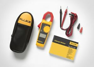 Fluke 323 40 400a Ac 600v Ac dc True rms Clamp Digital Meter With Temperature