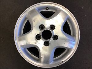 98 99 00 Accord V6 Aluminum Alloy Wheel Rim 15x6 1 2 5 Spoke Used Oem