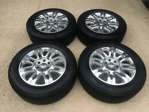 2004 2017 Ford F150 Expedition Platinum 20 Polished Oem Factory Wheels Tires