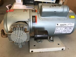 Gast 5hcd 10 m551x Oil less Piston Pump 3 4 Hp 3 phase Used