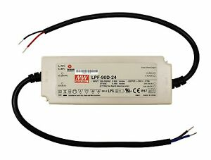 24v 90w Constant Voltage Mean Well Lpf 90d 24