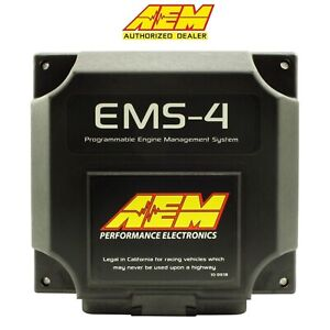 Genuine Aem 30 6905 Universal Programmable Engine Management System Ems4 Ecu