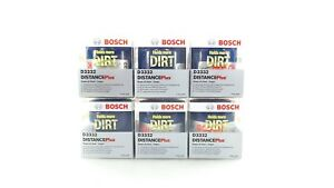 New Bosch Distance Plus Oil Filter Set Of 6 D3332 Chevy Gmc Buick 1975 2012