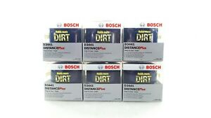 New Bosch Distance Plus High Performance Oil Filter Set Of 6 D3441 Vw Audi 95 06