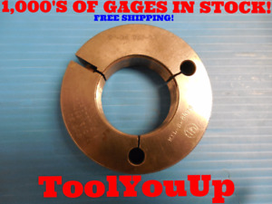 2 16 Unj 3a Thread Ring Gage 2 00 No Go Only P d 1 9554 Inspection Tooling