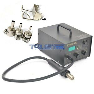 850d Hot Air Gun Kit Rework Station Smd Iron Soldering Solder Holder Voltage 110