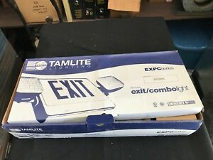 Tamco Tamlite Lighting Exit Combolight Expc3rwrc Emergency Lighting New