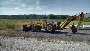 Ford 3550 Backhoe