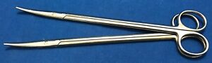 Aesculap 9 Nelson Metzenbaum Scissors Curved Reference Bc615r Lot Of 2