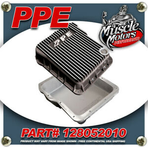 Ppe 128052010 Alum Transmission Pan For Gm Allison 1000 2000 2400 Series Brushed